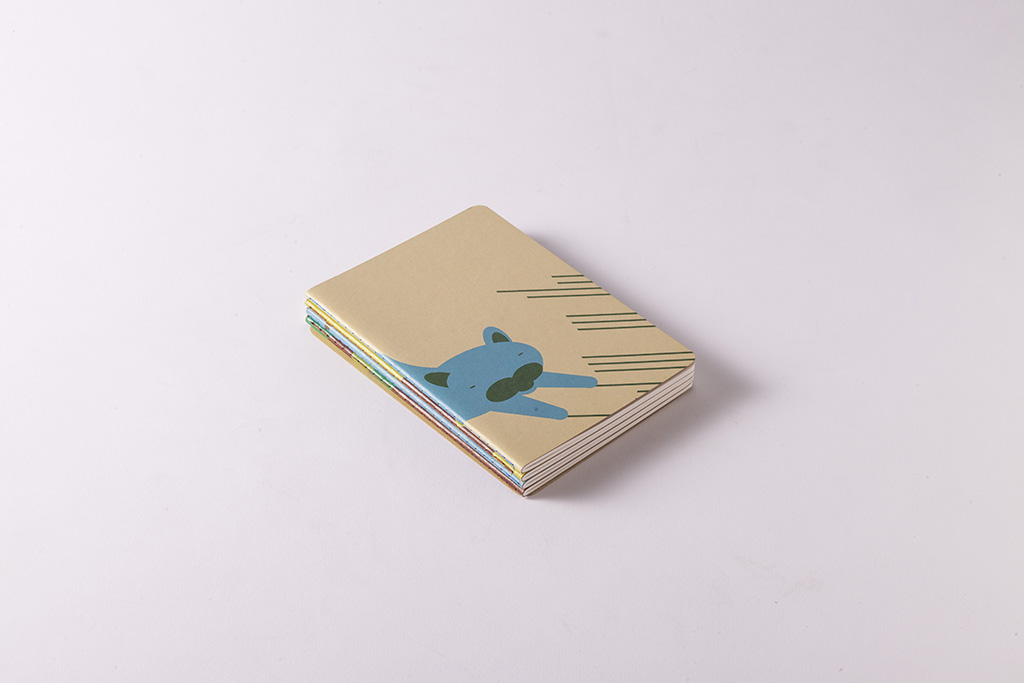 paper cover note book